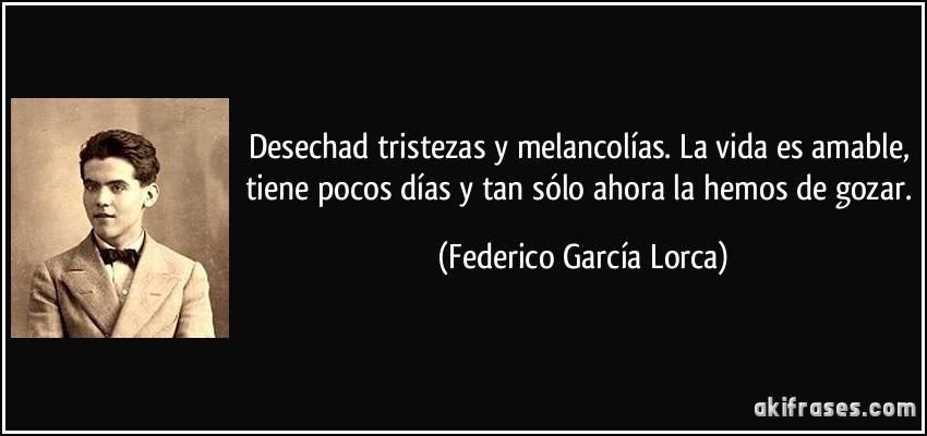 Recuerdo A Federico Garcia Lorca Blog Imosver