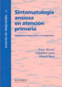 Sintomatología ansiosa en atención primaria - Alvarez, Enric/Gasto, Cristobal