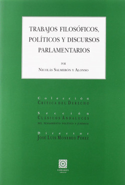 Trabajos filosoficos, politicos y discursos parlamentarios - Salmer
